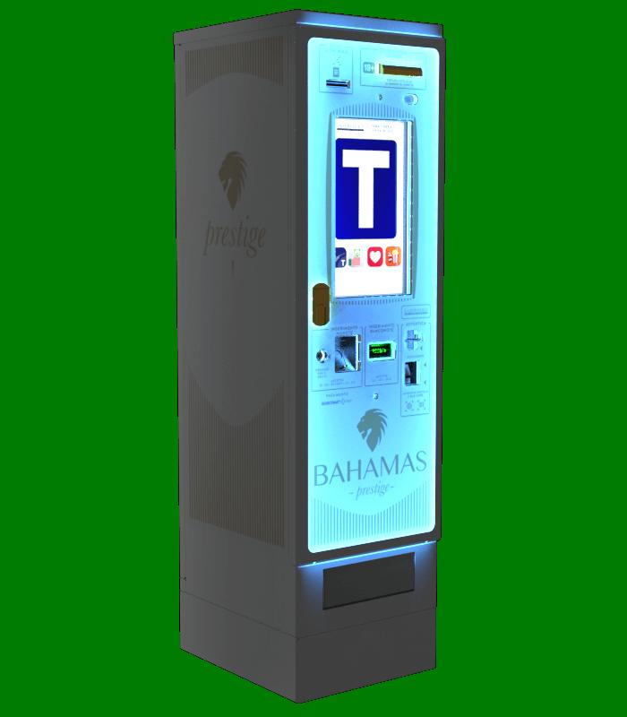 Laservideo Laservideo bahamas2 distributore automatico sigarette destra night - Distributore automatico di sigarette