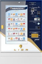 Laservideo lion fullspace fronte blu r00
