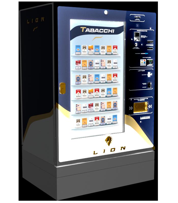 Laservideo Laservideo lion fullspace sx blu night r00 - Distributore automatico di sigarette