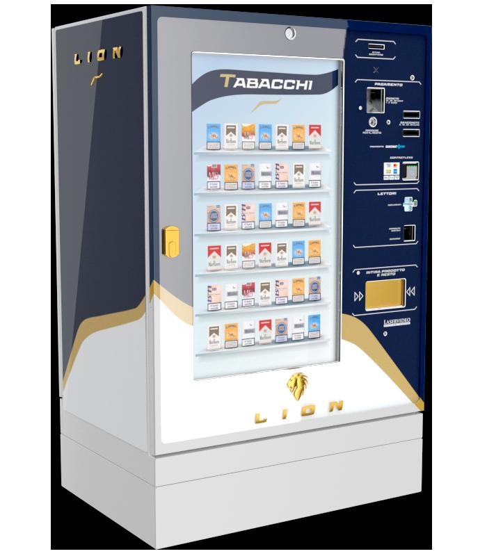 Laservideo Laservideo lion fullspace sx blu r00 - Distributore automatico di sigarette