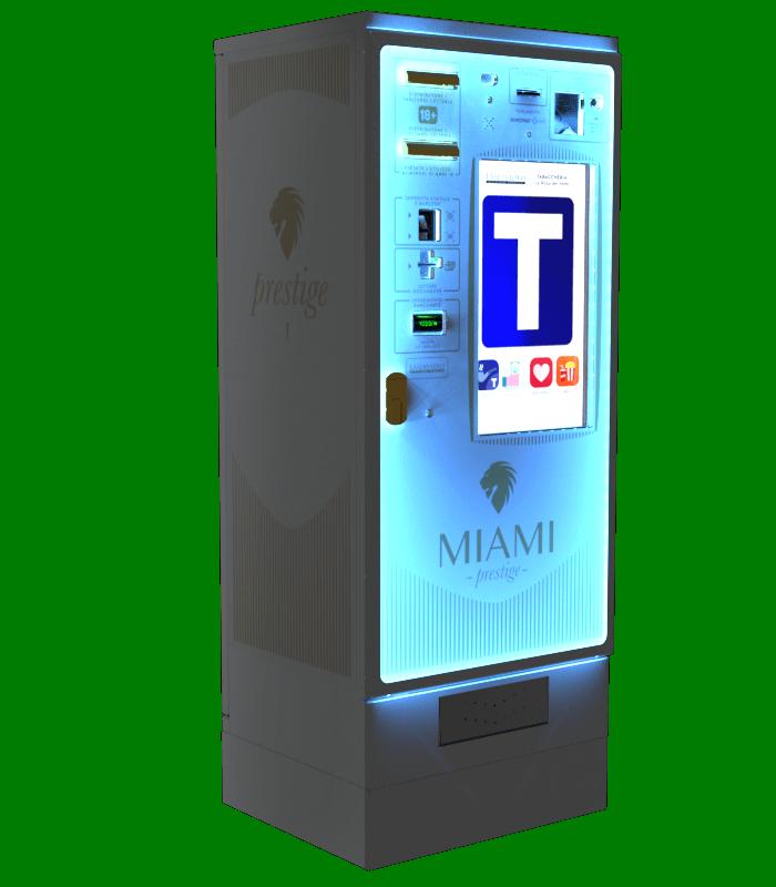 Laservideo Laservideo miami2 distributore automatico sigarette destra night - Distributore automatico di sigarette