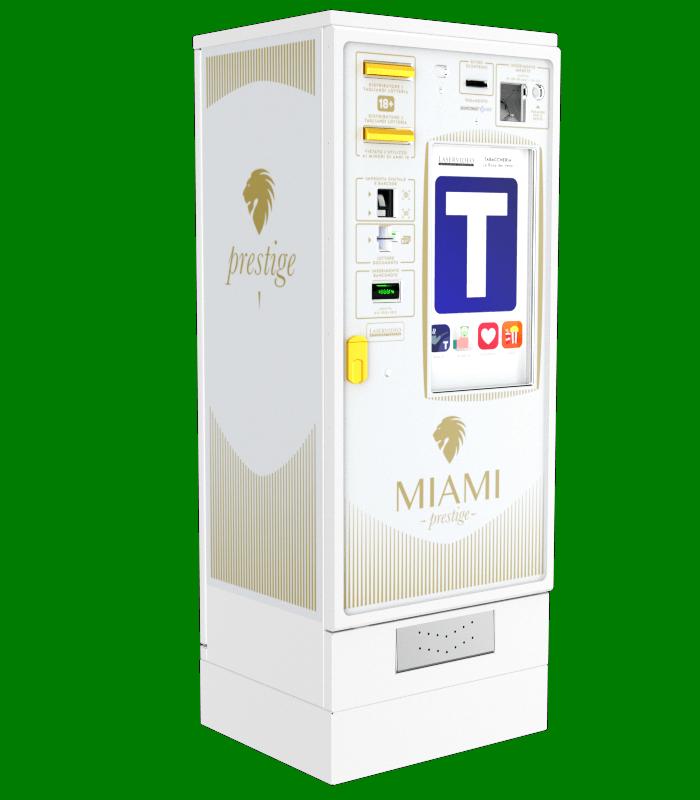 Laservideo Laservideo miami2 distributore automatico sigarette destra - Distributore automatico di sigarette