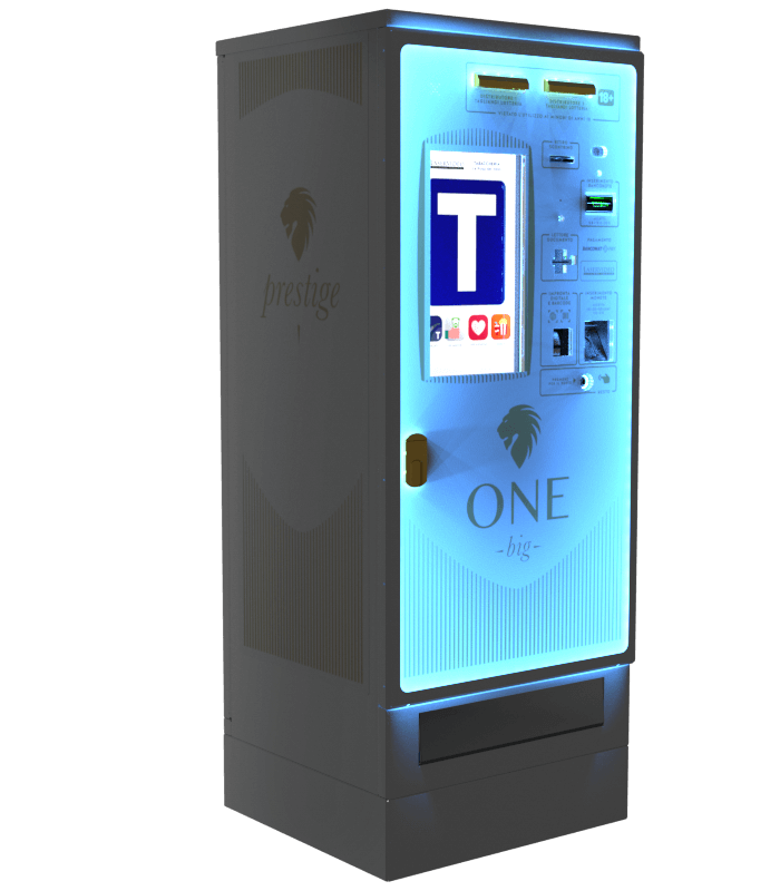 Laservideo Laservideo one big distributore automatico sigarette destra night - Distributore automatico di sigarette