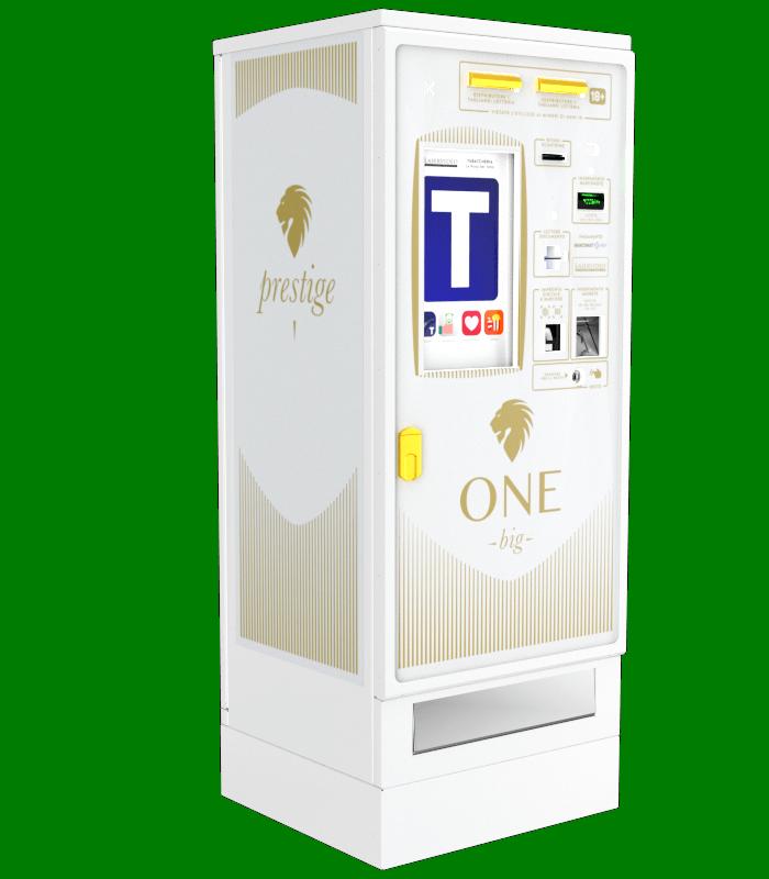 Laservideo Laservideo one big distributore automatico sigarette destra - Distributore automatico di sigarette