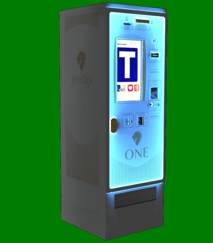 Laservideo Laservideo one distributore automatico sigarette destra night - Distributore automatico di sigarette
