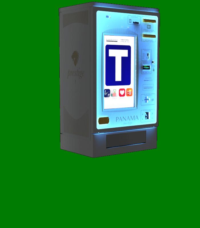 Laservideo Laservideo panama2 distributore automatico sigarette destra night - Distributore automatico di sigarette