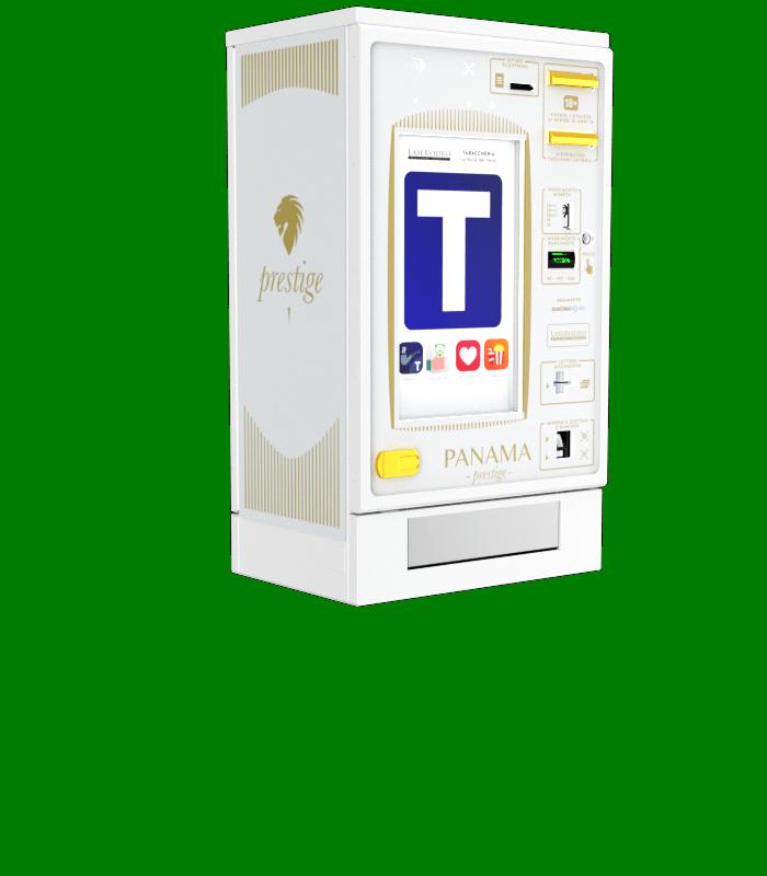 Laservideo Laservideo panama2 distributore automatico sigarette destra - Distributore automatico di sigarette
