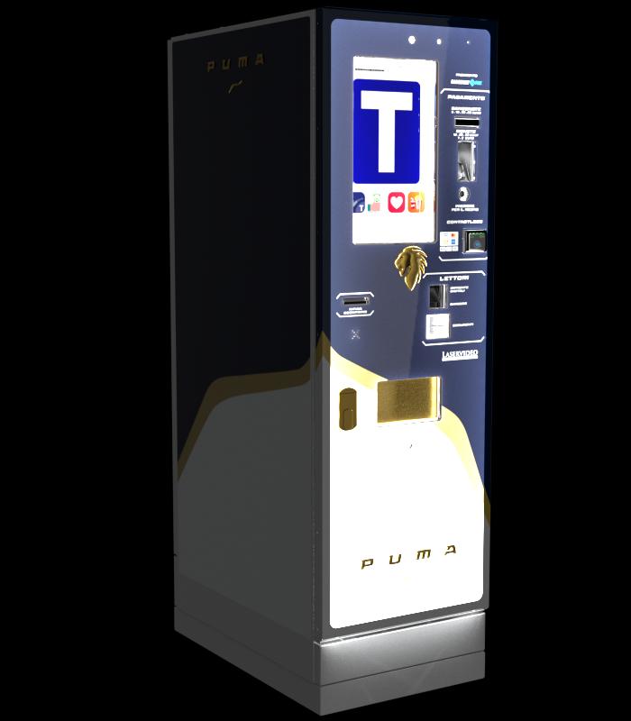Laservideo Laservideo puma fullspace sx blu night r00 - Distributore automatico di sigarette
