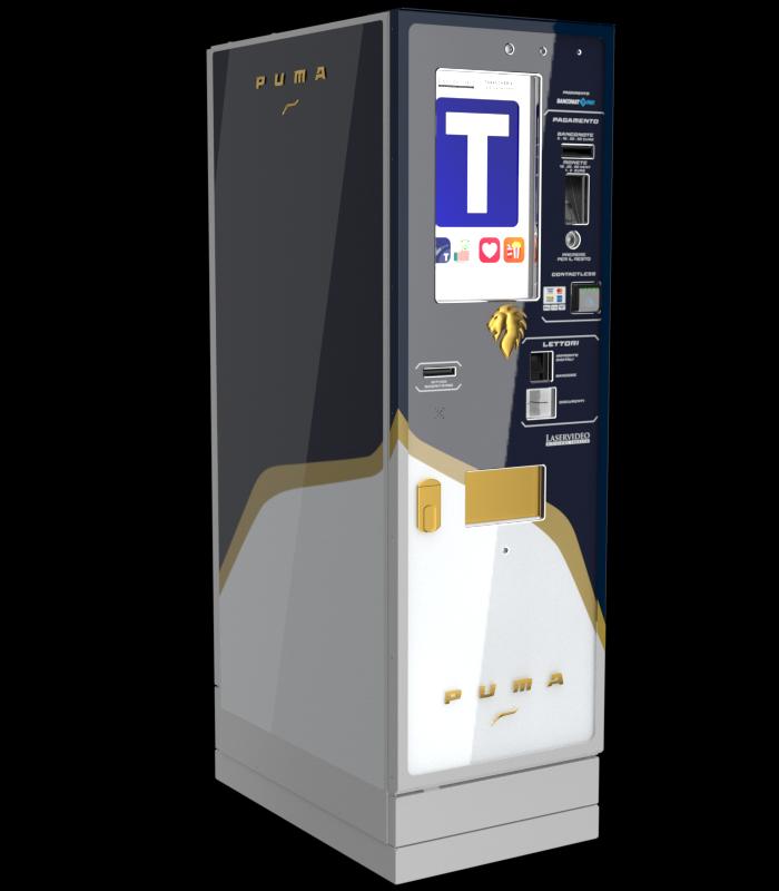 Laservideo Laservideo puma fullspace sx blu r00 - Distributore automatico di sigarette