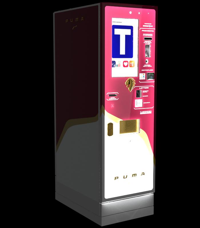 Laservideo Laservideo puma fullspace sx rosso night r00 - Distributore automatico di sigarette