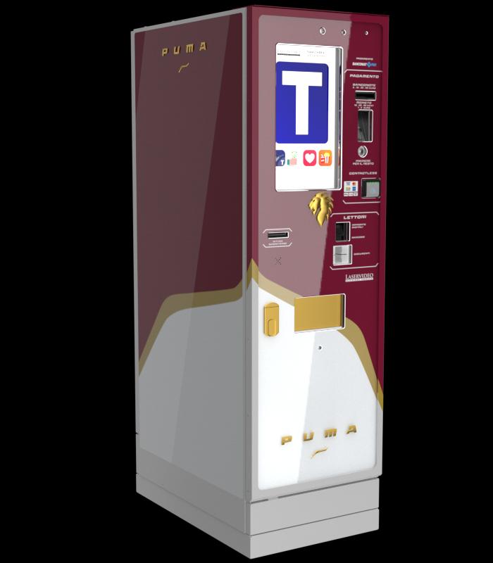 Laservideo Laservideo puma fullspace sx rosso r00 - Distributore automatico di sigarette