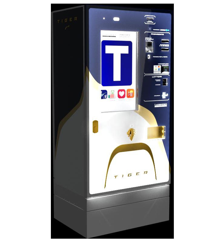 Laservideo Laservideo tiger fullspace sx blu night r00 - Distributore automatico di sigarette